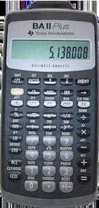 TI financial calculator