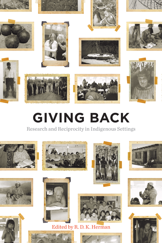 Giving back: research and reciprocity in Indigenous settings