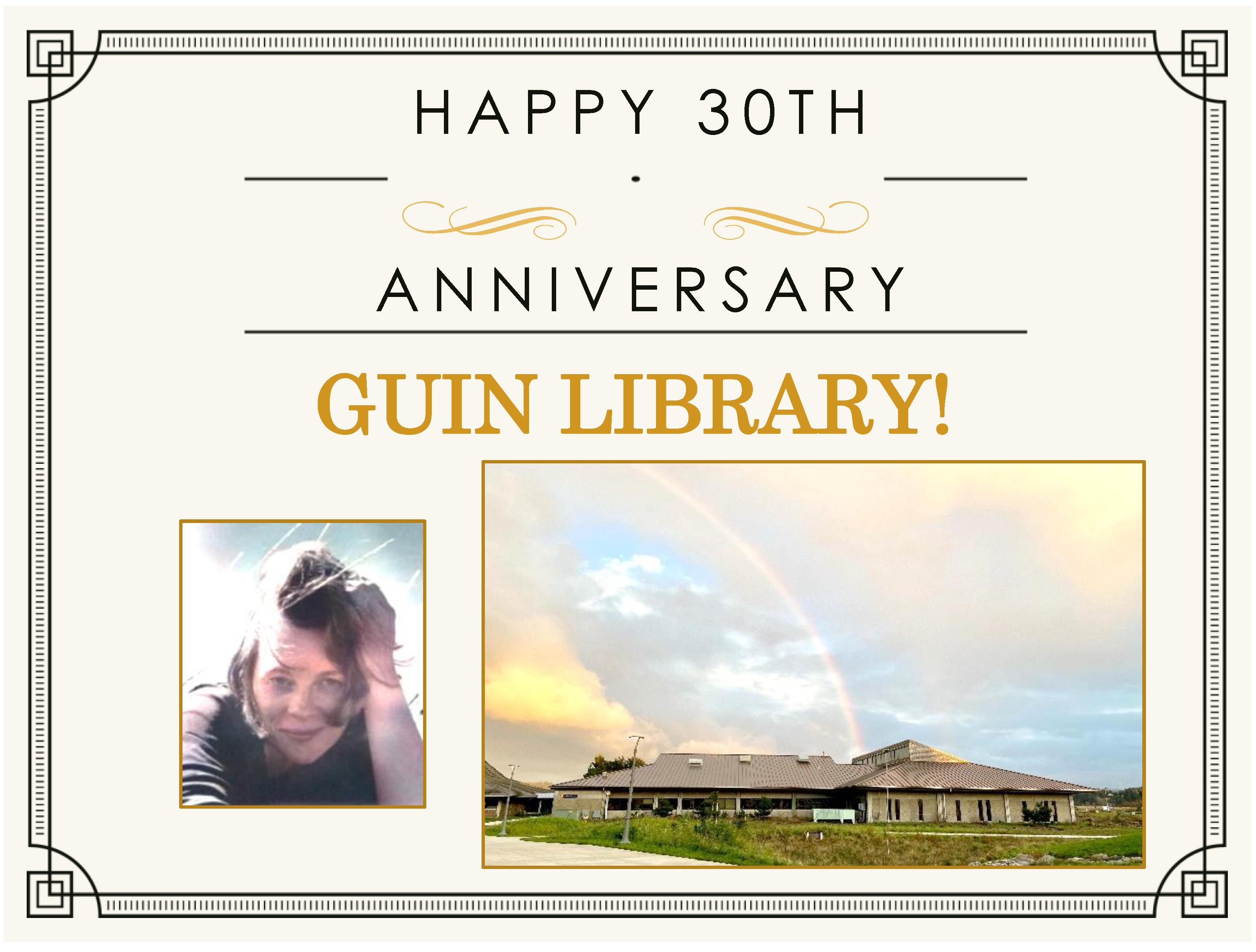 Happy 30th Anniversary Guin Library