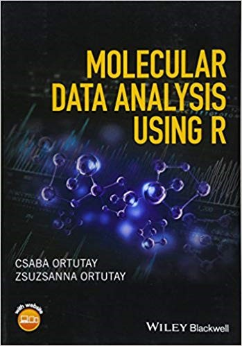 Molecular data analysis using R book cover image